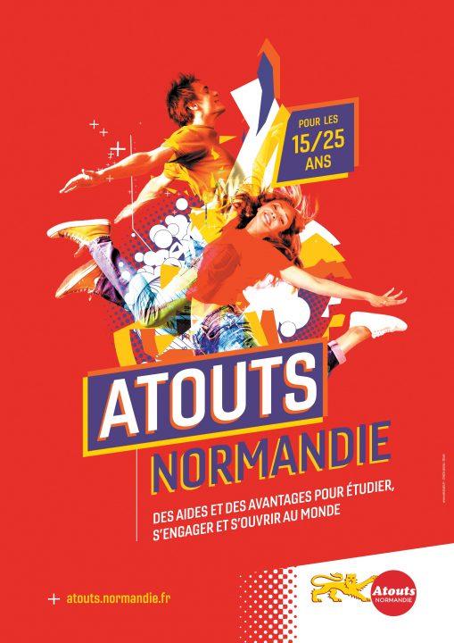 Exé affiche Atouts Normandie A3.indd